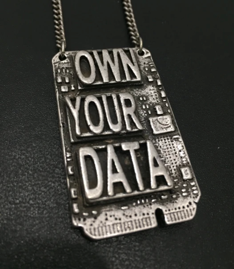 Own Your Data Necklace