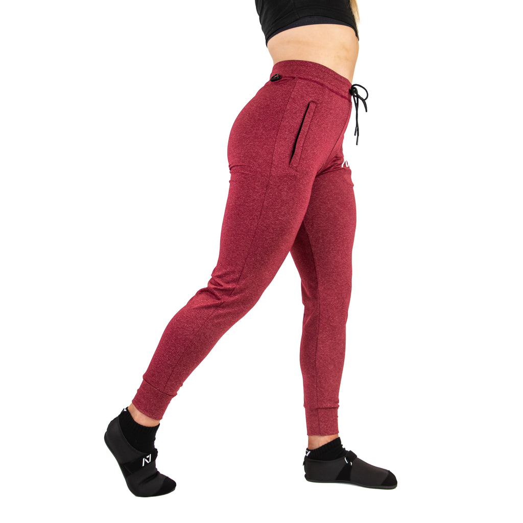 DEFY JOGGERS - CURRANT (UNISEX)