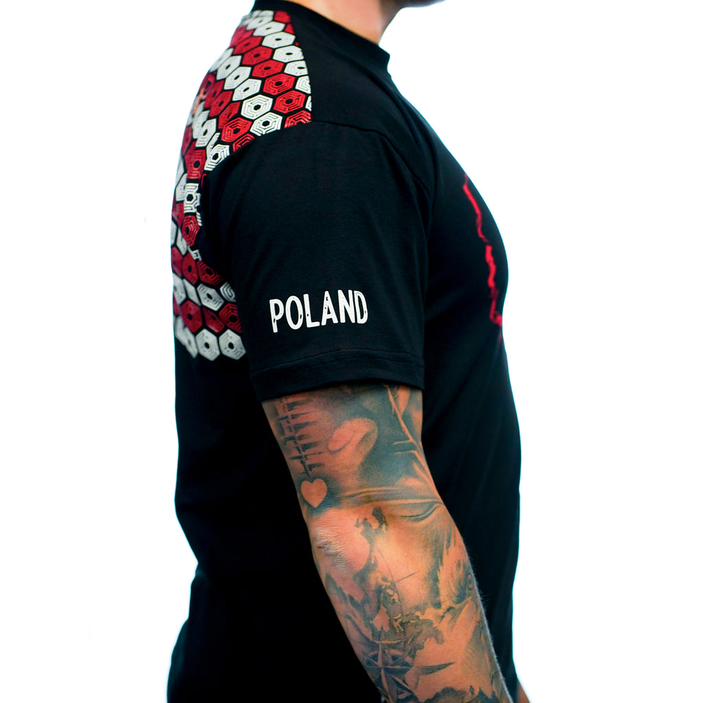 Outline Poland Bar Grip Men's Shirt / Koszulka Męska outline Polska Bar Grip