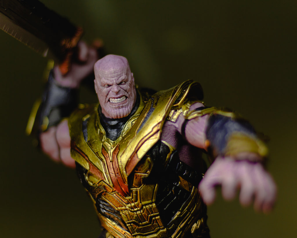 Iron Studios Thanos Deluxe BDS Art Scale Avengers: Endgame Version review