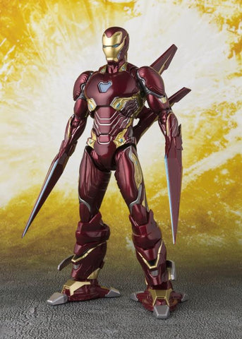 S.H.Figuarts IRON MAN MARK L AVENGERS INFINITY WAR WITH NANO-WEAPON SET