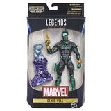 CAPTAIN MARVEL MARVEL LEGENDS WAVE 1 SET of 7 FIGURES (KREE SENTRY BAF)