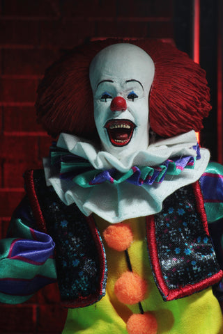 "IT (1990) – 8"" CLOTHED FIGURE – PENNYWISE"