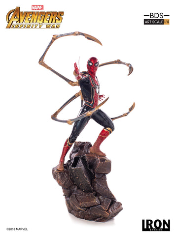 IRON SPIDER-MAN BDS ART SCALE 1/10 - AVENGERS: INFINITY WAR