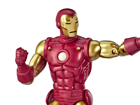 MARVEL COMICS 80TH ANNIVERSARY MARVEL LEGENDS IRON MAN