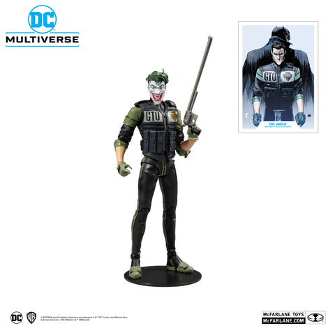 "DC MULTIVERSE 7"" ACTION FIGURE - WHITE KNIGHT - JOKER"