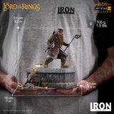 GIMLI DELUXE BDS ART SCALE 1/10 - LORD OF THE RINGS