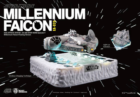 MILLENNIUM FALCON FLOATING VERSION