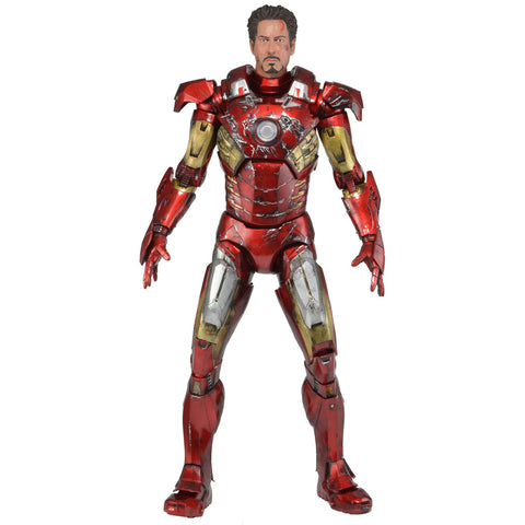 THE AVENGERS – 1/4 SCALE ACTION FIGURE – BATTLE DAMAGED IRON MAN