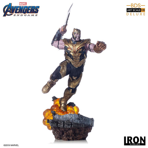 THANOS DELUXE BDS ART SCALE 1/10 - AVENGERS: ENDGAME
