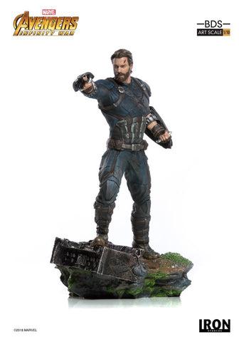 CAPTAIN AMERICA BDS ART SCALE 1/10 - AVENGERS INFINITY WAR