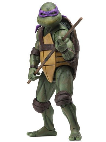 "TEENAGE MUTANT NINJA TURTLES – 7"" SCALE ACTION FIGURE – 1990 MOVIE DONATELLO"
