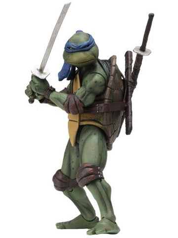 "TEENAGE MUTANT NINJA TURTLES – 7"" SCALE ACTION FIGURE – 1990 MOVIE LEONARDO"