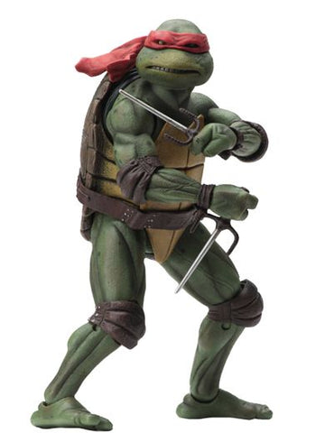 "TEENAGE MUTANT NINJA TURTLES – 7"" SCALE ACTION FIGURE – 1990 MOVIE RAPHAEL"
