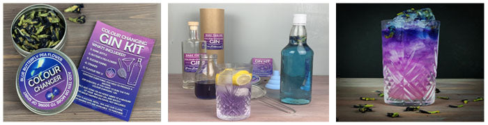 How to make colour-changing gin