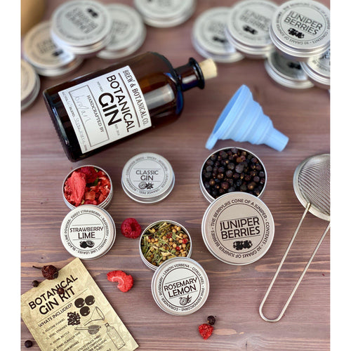 Make your own Gin Kit inc. Juniper, Flavours & Instructions.-Brew and Botanical Co.