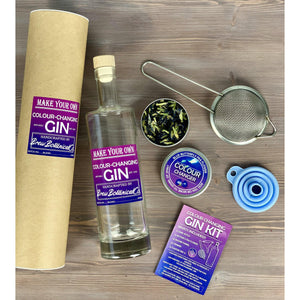 Make your own Colour Changing Gin Kit including Butterfly Peaflowers