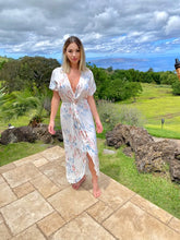 Load image into Gallery viewer, Angela Twist-Front Maxi Dress