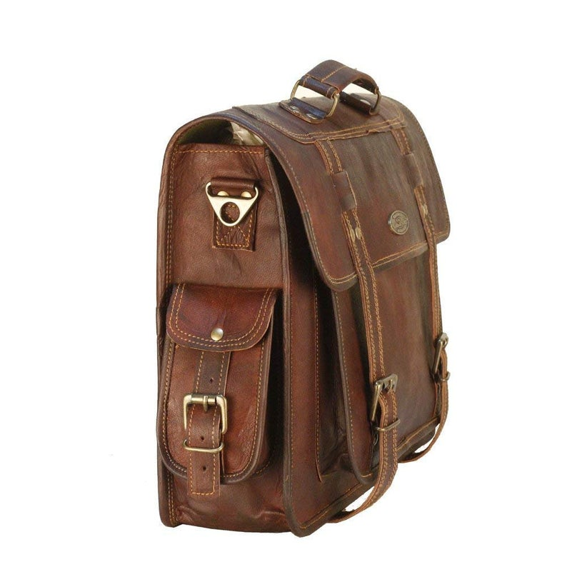 Handmade Laptop Messenger Bag for Men and Women Briefcase Laptop Bag Cross Body Shoulder Bag Backpack Bag Laptop Portfolio Messenger Bag
