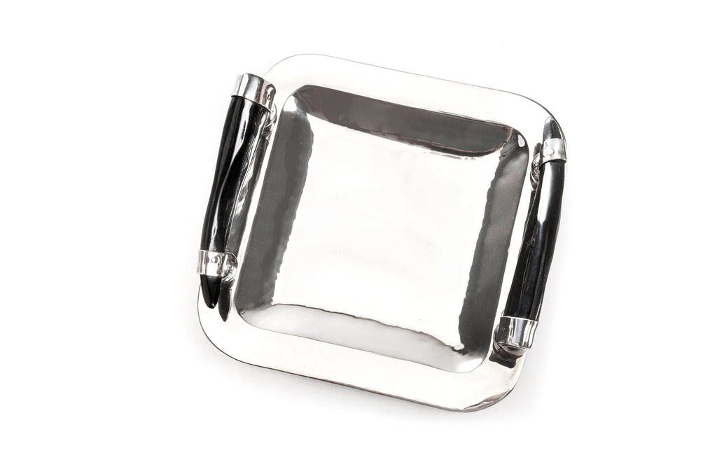 Square table tray  , Cutting Board , Nickel Silver Tray , German Silver Tray , German Silver Plate