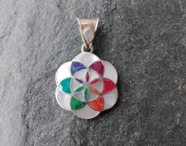 Flower of Life Stearling Silver