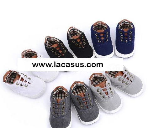 High quality canvas baby shoes