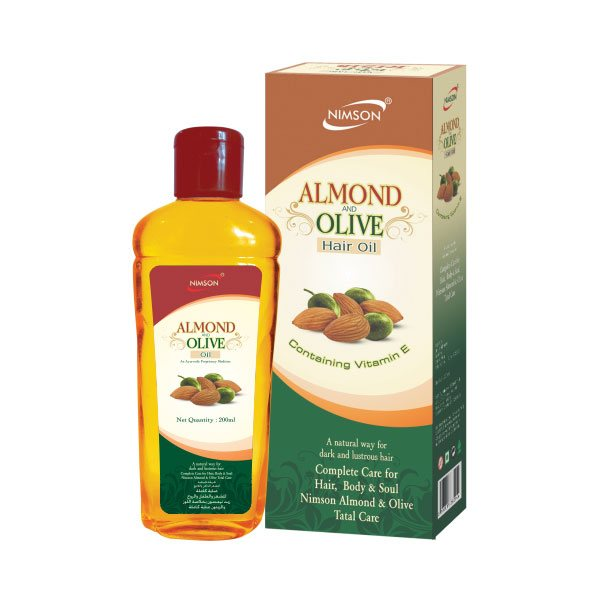 Almond & Olive Hair Oil