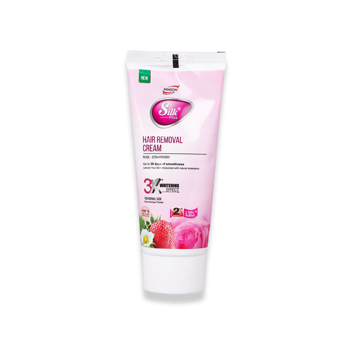 Silk Plus Hair Remover Cream Strawberry