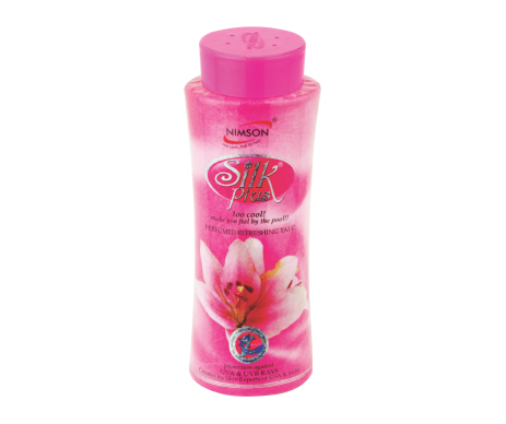 Silk Plus Talcum Powder
