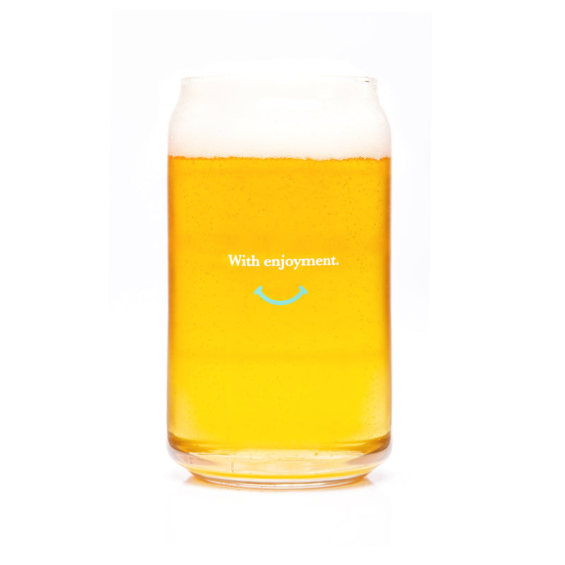 4pack - Balter 16oz / 470ml 'Tinnie' Glass