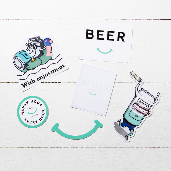 The Ultimate 'Beer' Sticker Pack