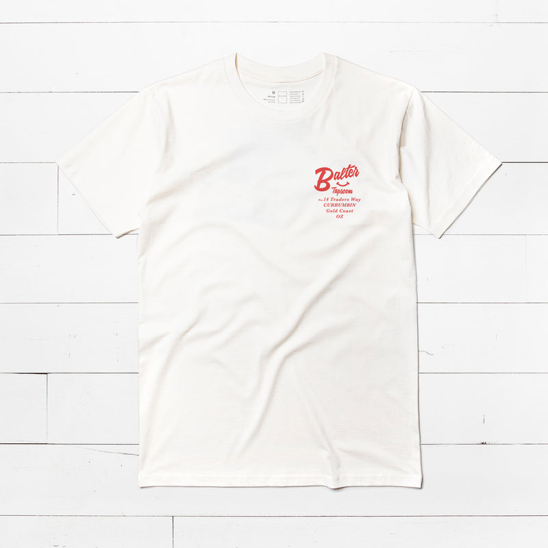 'Fresh Daily' 2.0 Tee - Natural