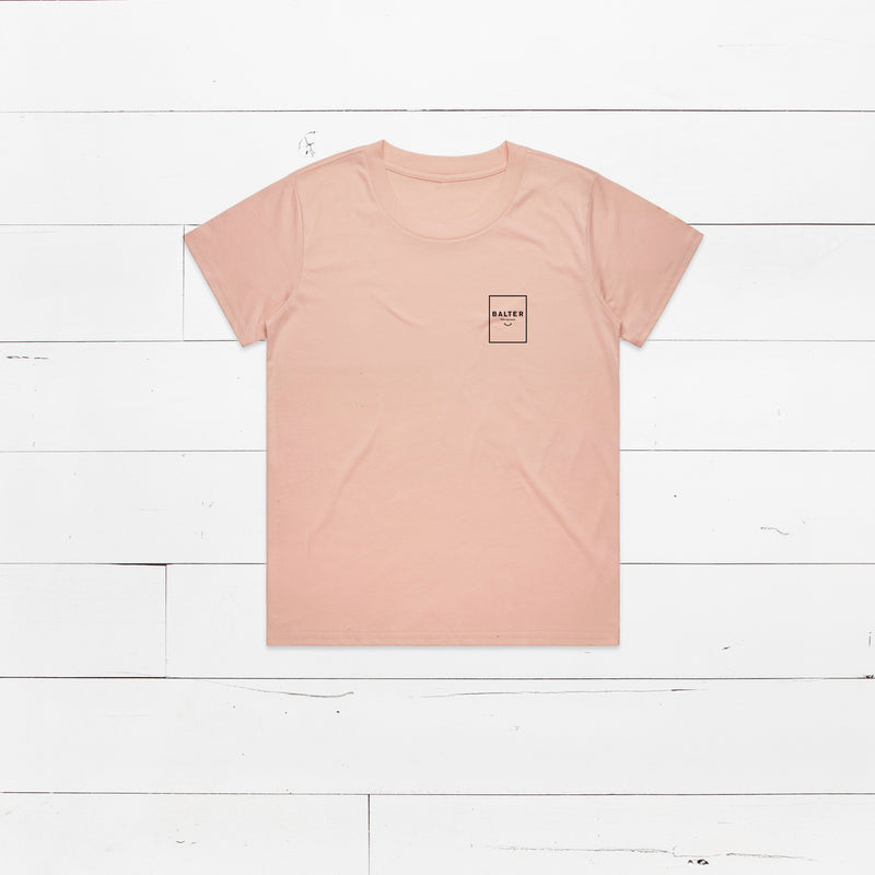 Womens 'Staple' Tee - Pink