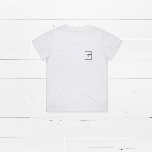 Womens 'Staple' Tee - White