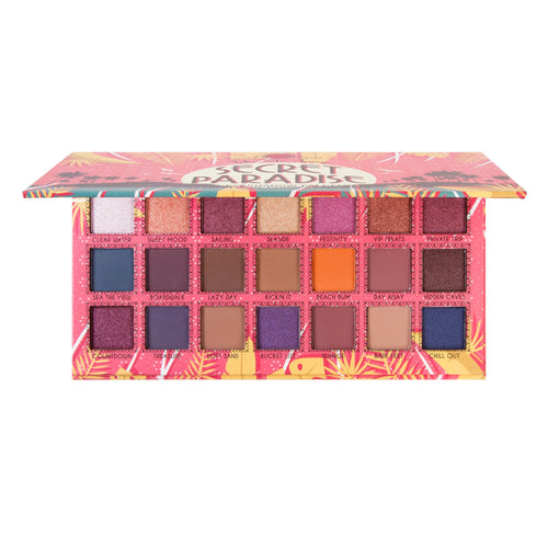 Jcat Beauty Take Me Away 21 Eyeshadow Palette - Secret Paradise