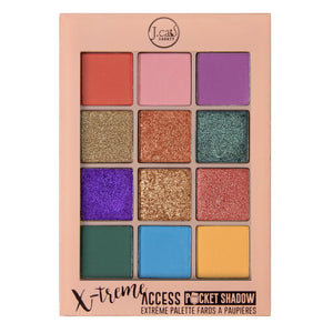 Jcat Beauty X-Treme Access Pocket Shadow - Pops Of Paparazzi