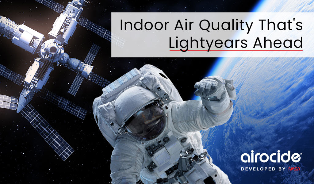 Indoor Air Quality That's Lightyears Ahead