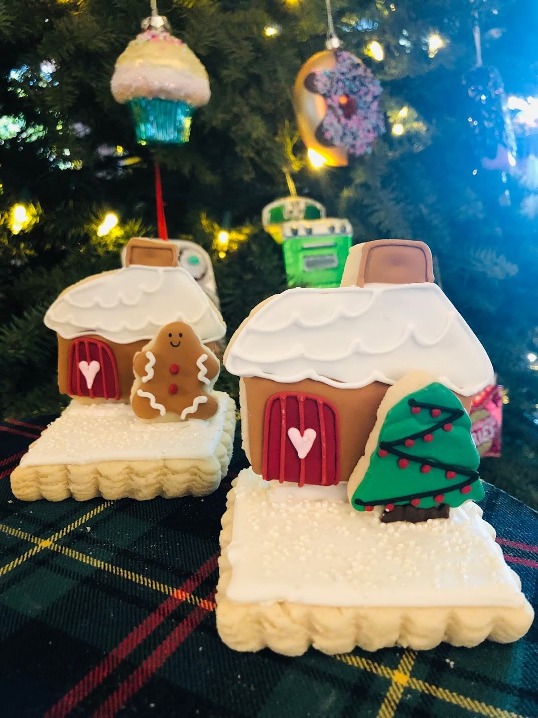 Christmas Cookie Houses - Sugar Trip
