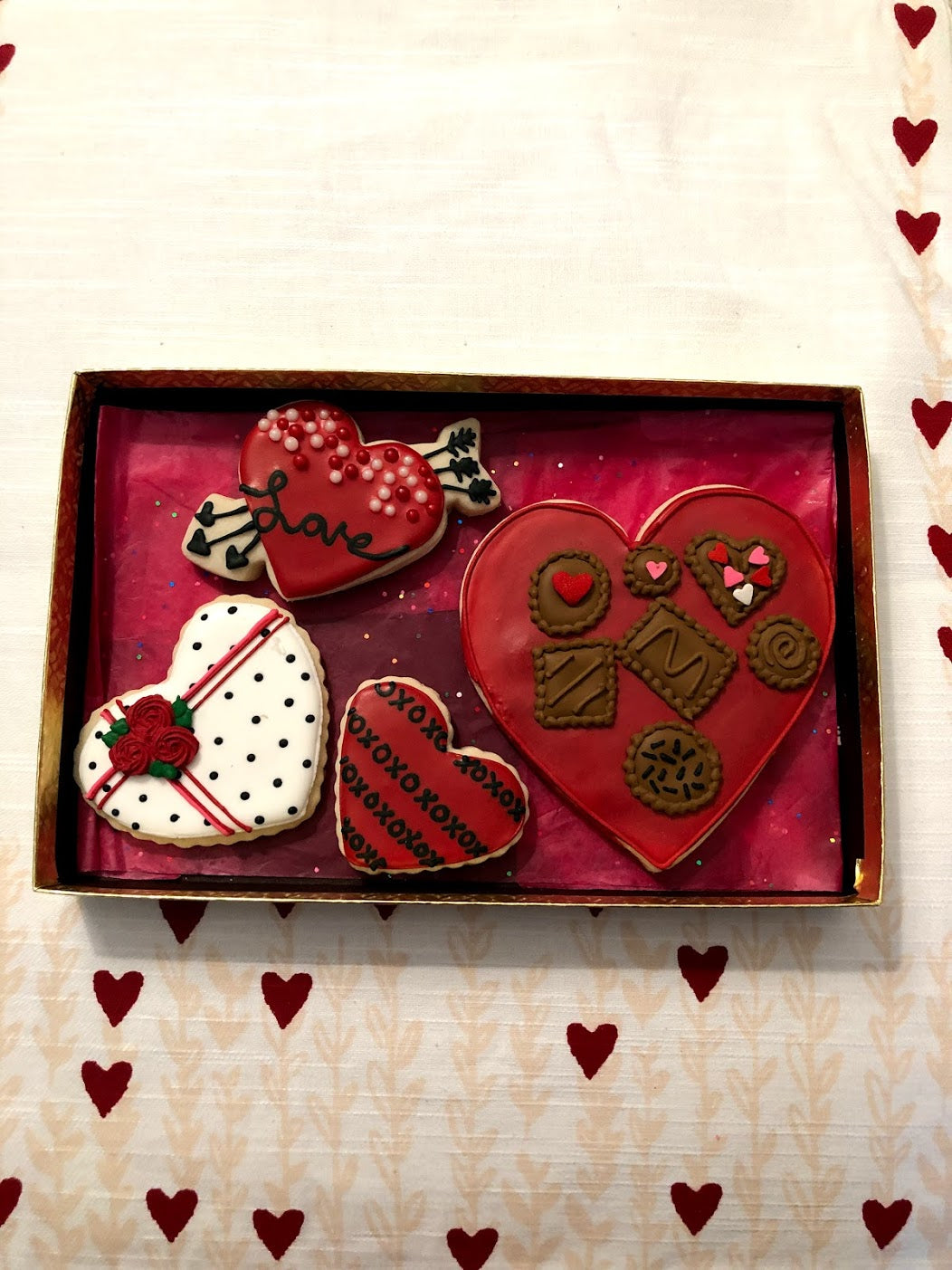 Hearts Cookie Box - Sugar Trip