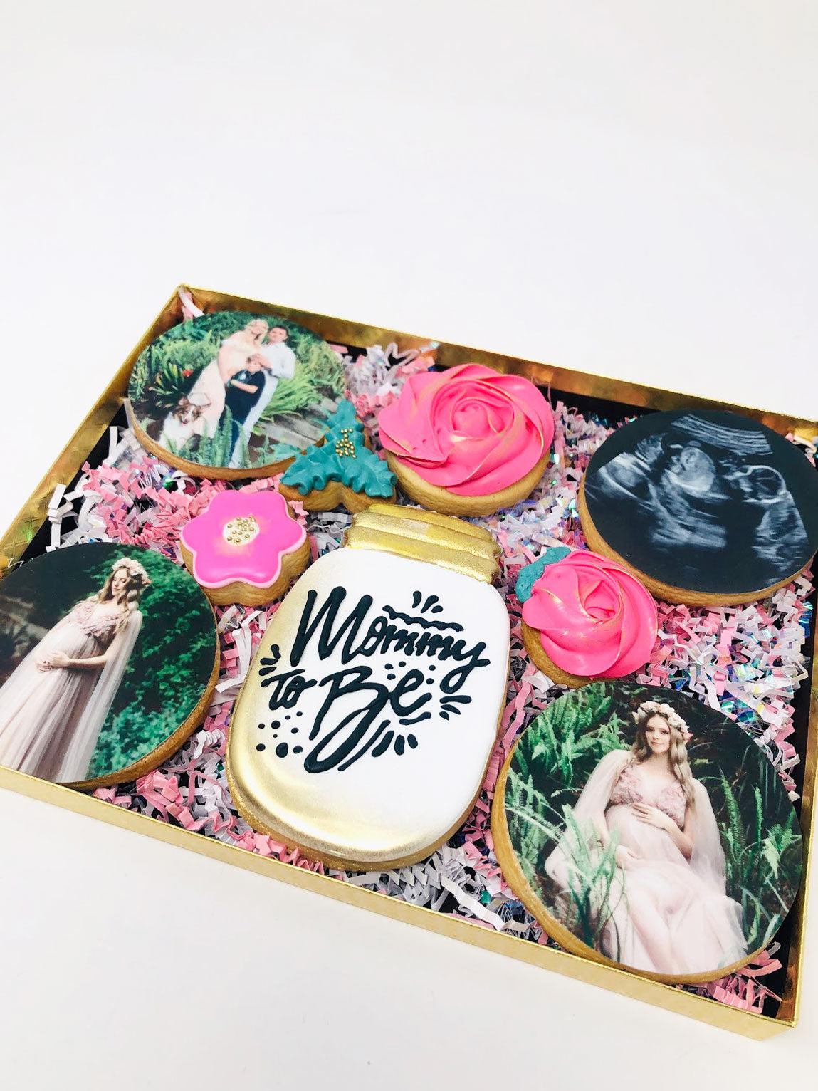 Mommy to Be Cookie Gift Box - Sugar Trip