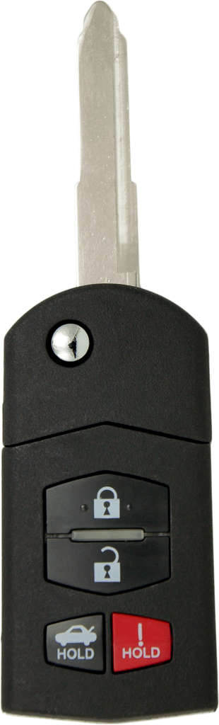 Mazda 4 Button Flip Key (4B1) - By Ilco