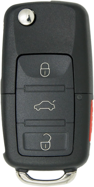 Volkswagon 4 Button Flip Key (48) (4B1) - By Ilco