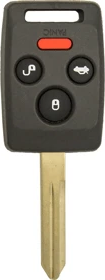 "Subaru 4 Button Remote Head Key ""4D62"" (4B5) - By Ilco"