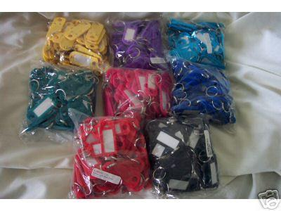 Replacement Key ID's 50 Per Bag (Yellow)