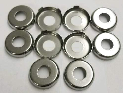 GM Chrome Face Cap 10pk (P-41-201, RP6036)
