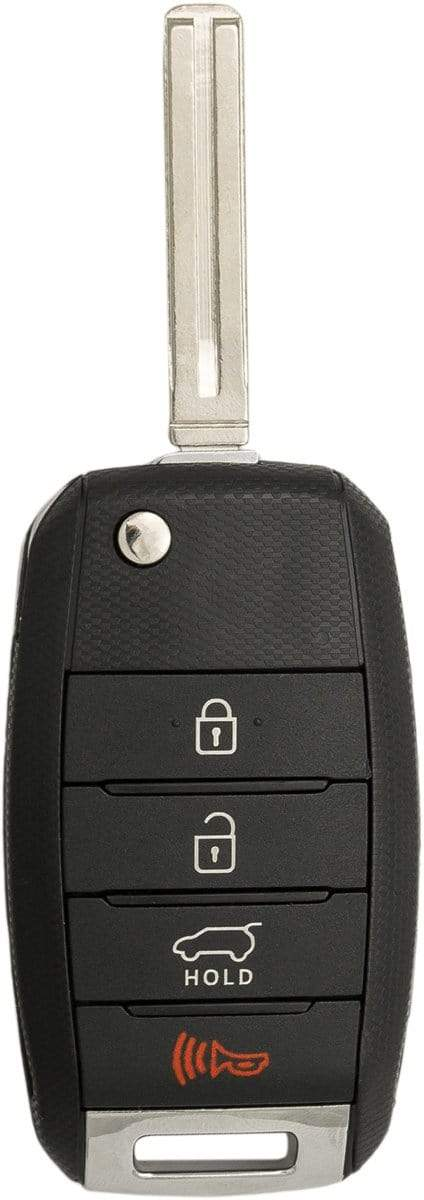 Kia 4 Button Flip Key (4B1) - By Ilco