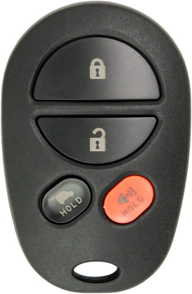 Toyota Sequoia 4 Button Remote Keyless Entry (4B2) - By Ilco