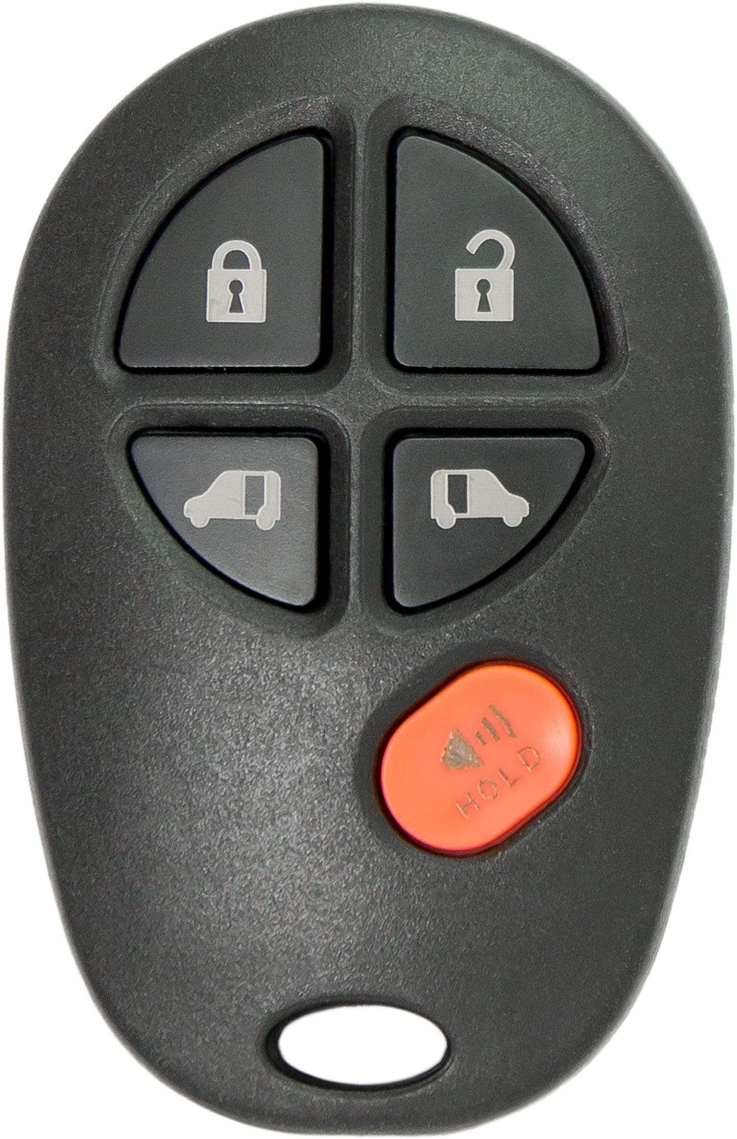 Toyota Sienna 5 Button Remote Keyless Entry (5B1) - By Ilco