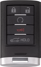 Cadillac 5 Button Prox Remote Keyless Entry (5B1) - By Ilco
