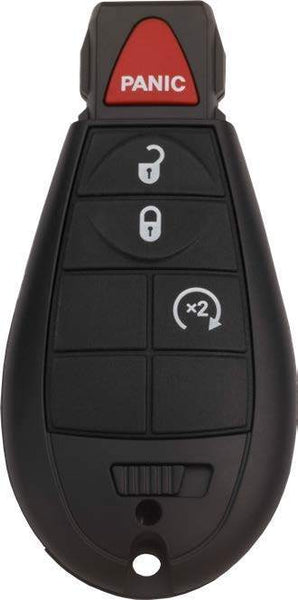 Jeep 4 Button Fobik (4B1) - By Ilco